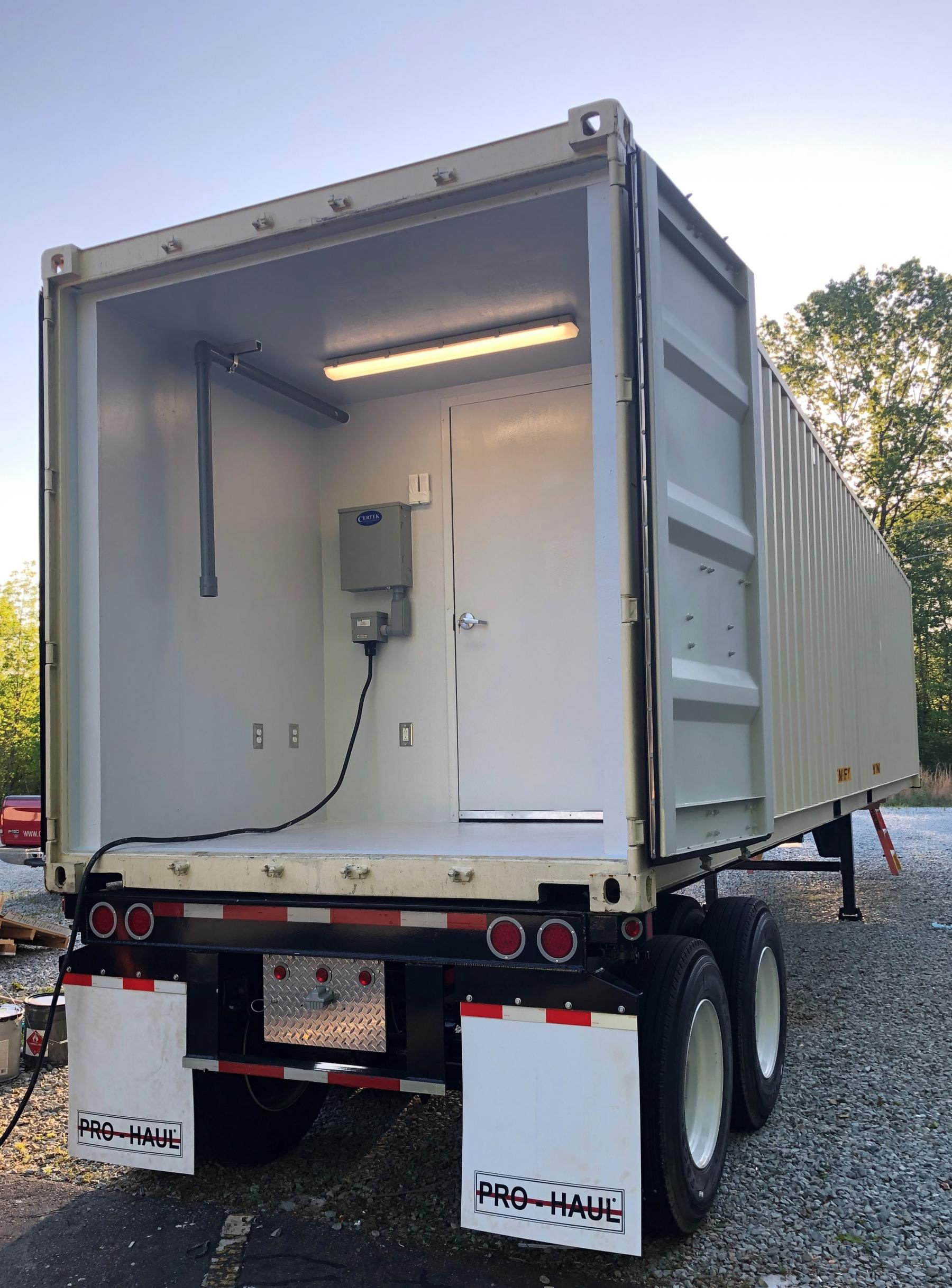 CERTEK Mobile Decontamination Chamber